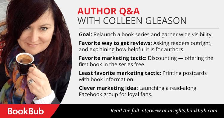 BookBub Interview with Colleen Gleason