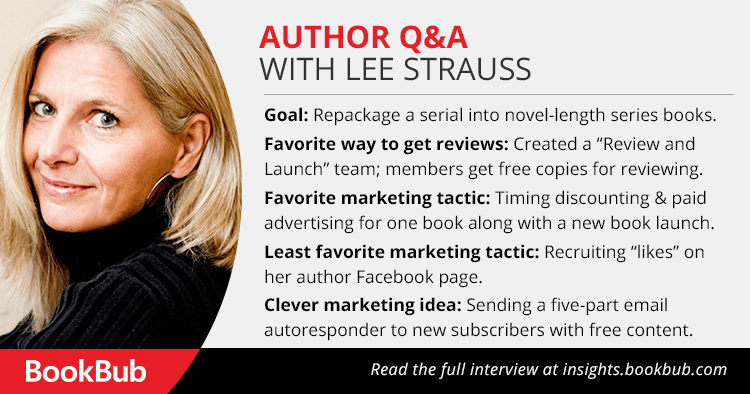 BookBub Interview with Lee Strauss