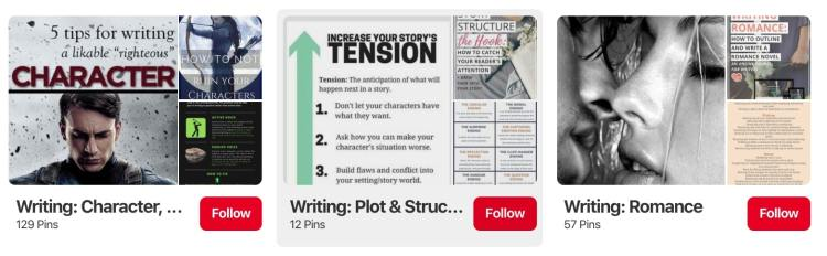 Kami Garcia writing tips on pinterest