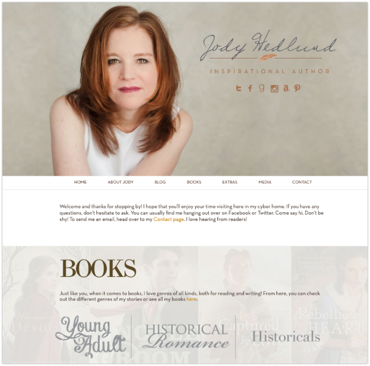 Jody Hedlund Author Website