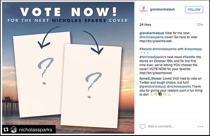 Grand Central Publishing Instagram