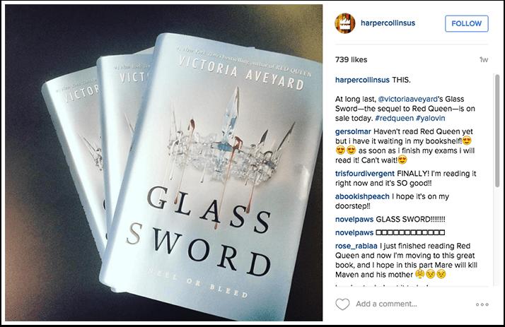 HarperCollins Instagram