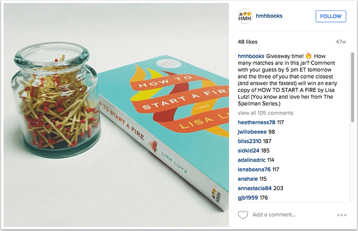 Houghton Mifflin Harcourt Instagram