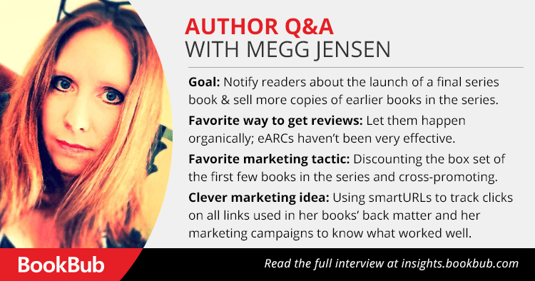 BookBub Interview with Megg Jensen