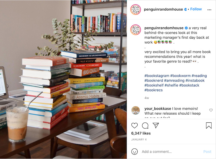 Behind The Scenes Bookstagram