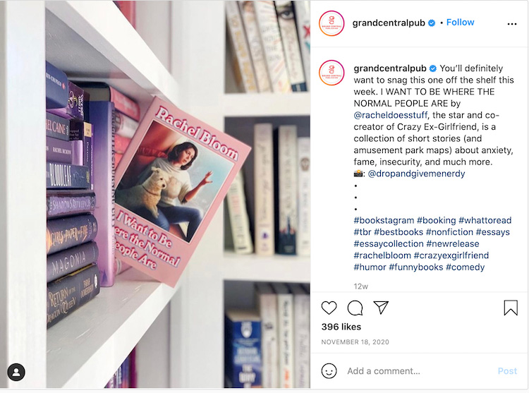 Bookstagram Publisher Repost