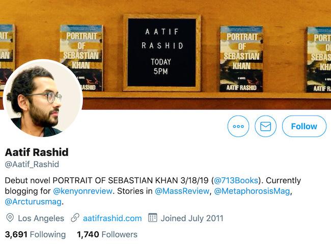Aatif Rashid Twitter Header