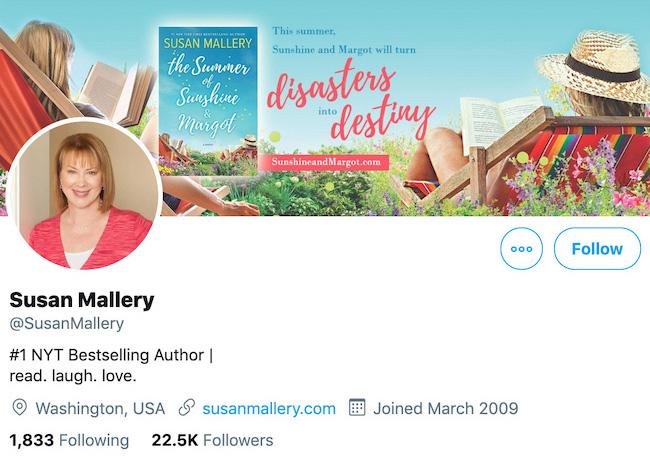 Susan Mallery Twitter Header