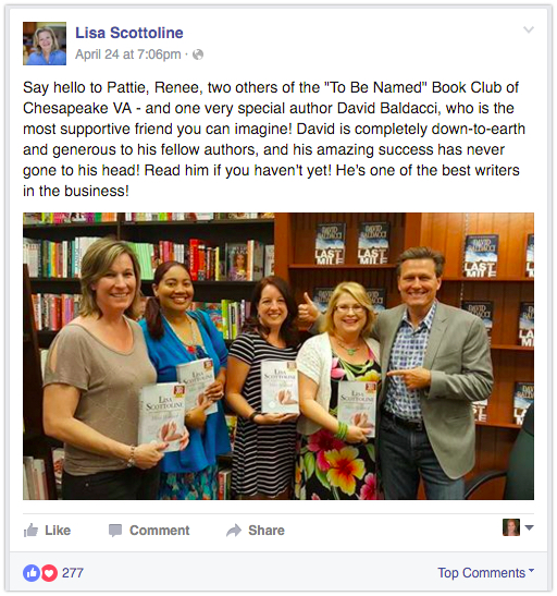 Show support for other authors