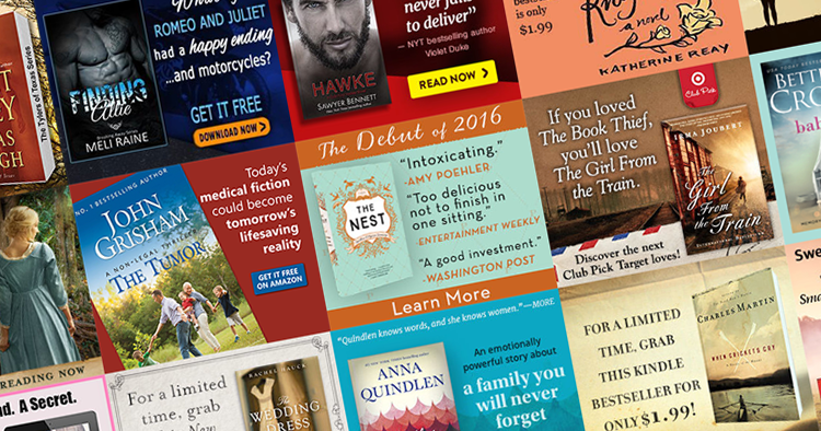 Book Marketing Display Ads: 20 Stunning Designs