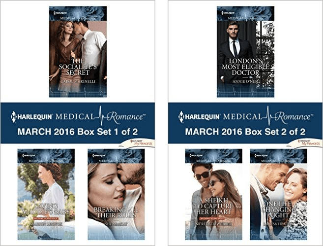 Harlequin Medical Romance Box Sets