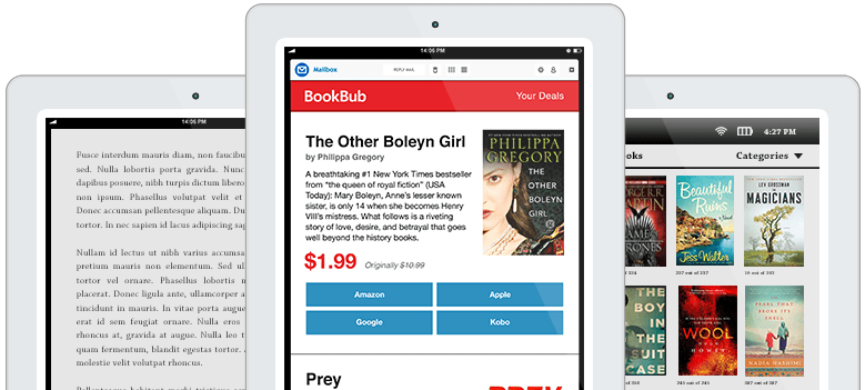 BookBub Featured Deal