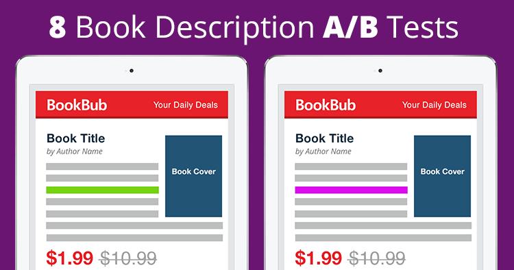 8 Book Description A/B Tests