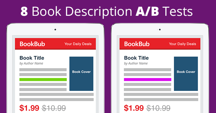 8 Book Description A/B Tests You Need to See
