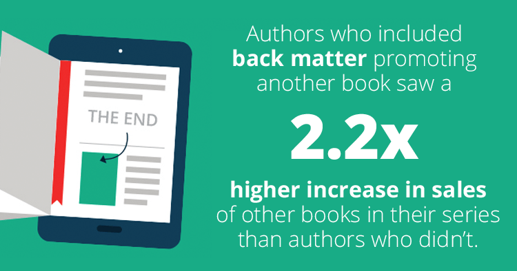 Back matter promotions increase book sales