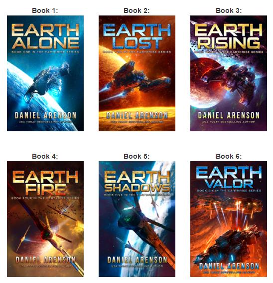 Book Series - Earth Alone