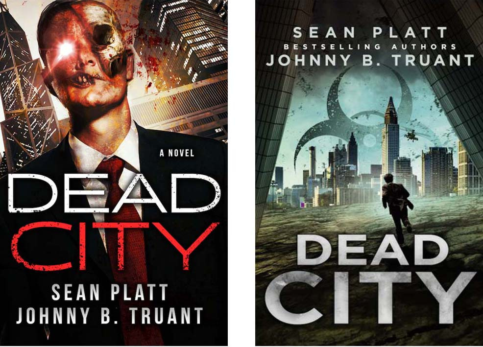 Dead City - Book Cover Redesign