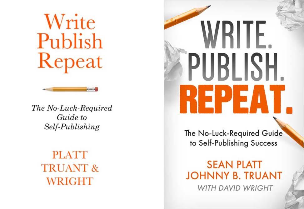 Write. Publish. Repeat. - Book Cover Redesign