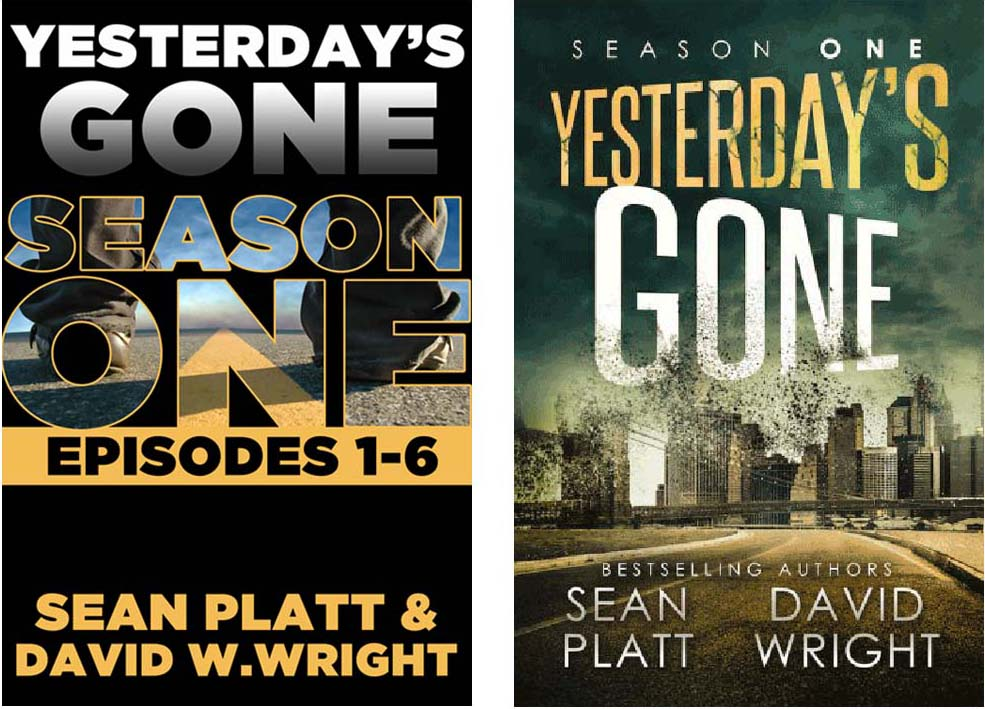 Yesterday's Gone - Book Cover Redesign