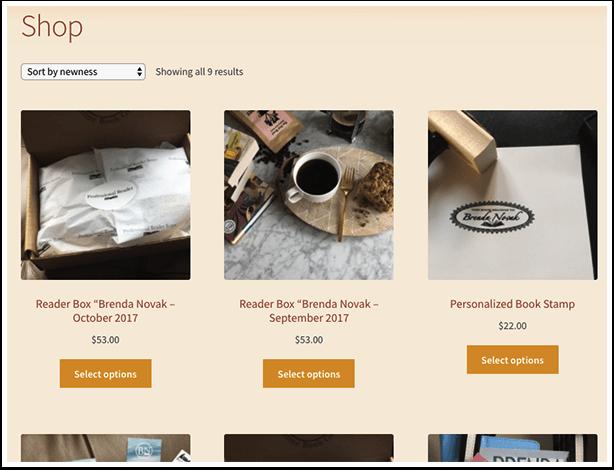 Brenda Novak's Online Store