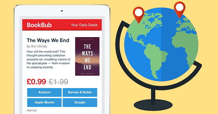 How I Rocked an International-Only BookBub Deal