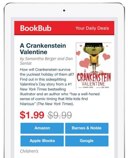 Valentine's Day BookBub Featured Deal