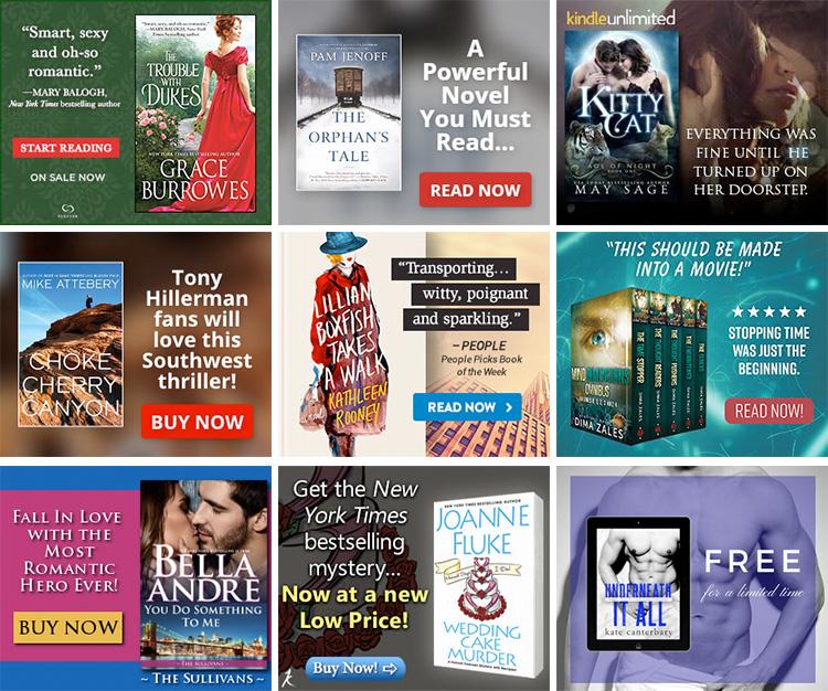 BookBub Ads - Creative Examples
