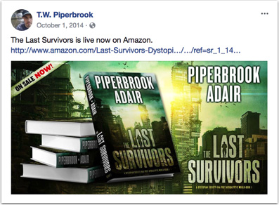 Facebook boosted post for The Last Survivors