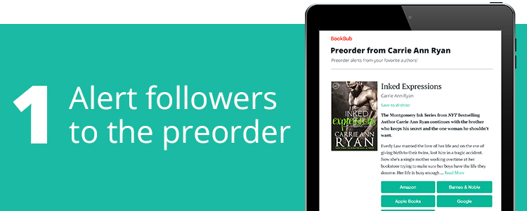 Alert Followers to the Preorder
