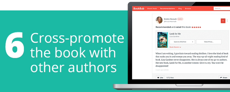 Cross-Promote the Book With Other Authors