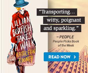 BookBub Ad: Lillian Boxfish Takes a Walk