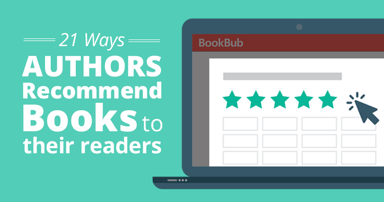 Ways Authors Recommend Books to Their Readers