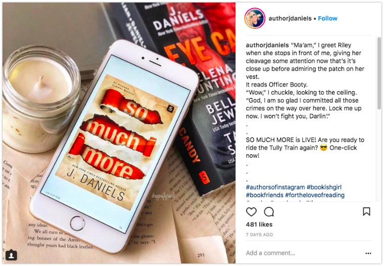 J. Daniels - Display a book cover on a phone or ereader screen