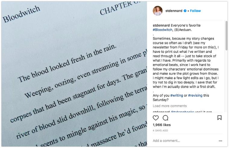 Susan Dennard - Show a sneak peek of an upcoming release