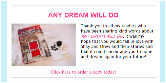 Newsletter promoting preorder