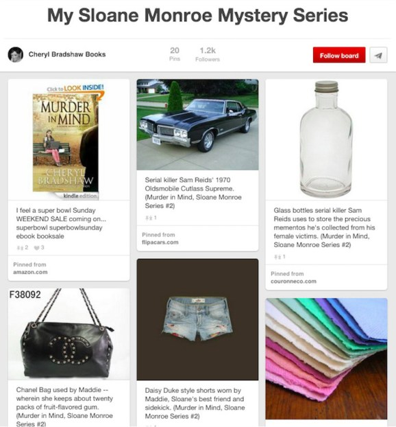 Book Prop Pinterest Board