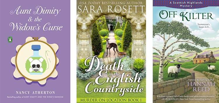 Cozy Mysteries Trends - English village mysteries