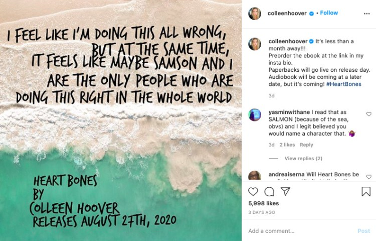 Book Quote Instagram Post
