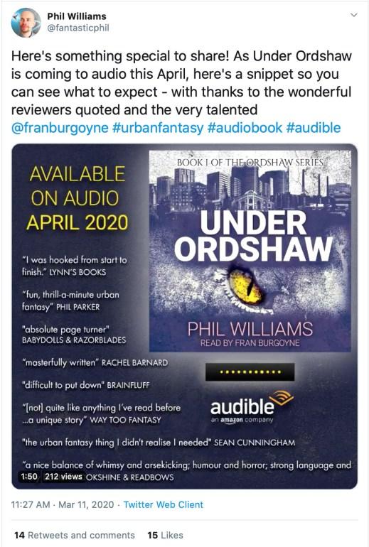Twitter Audiobook Excerpt