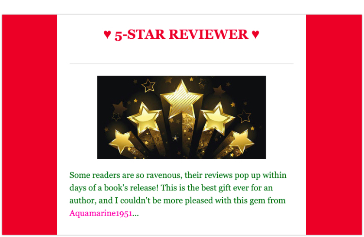 thank your fans get reader reviews