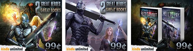 BookBub Ads Images Designs