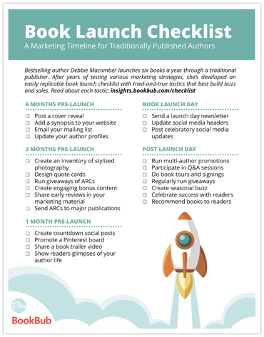 Book Launch Checklist