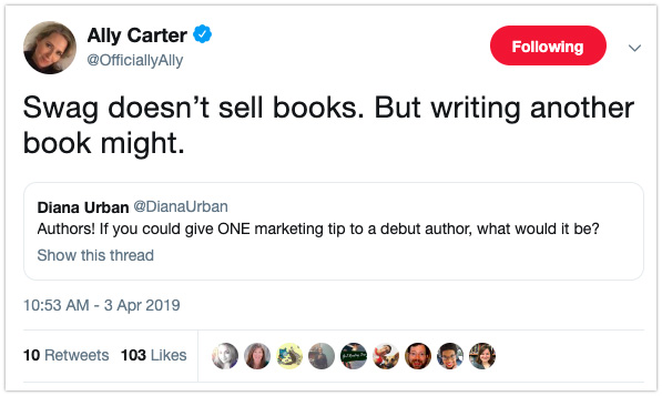 book marketing tips debut authors