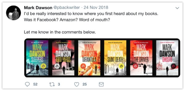 twitter for authors ask for opinions mark dawson