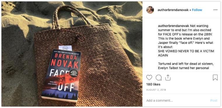author instagram beach reads