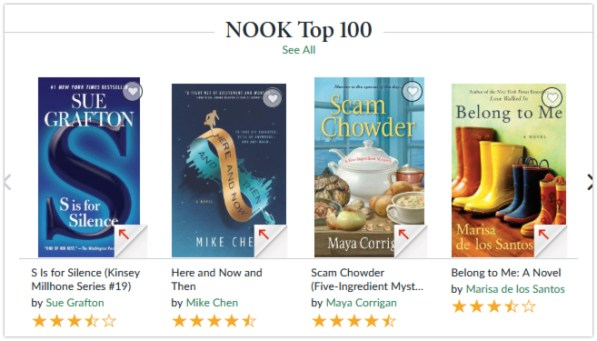 nook bookbub featured deal