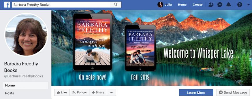 Barbara Freethy Facebook Page