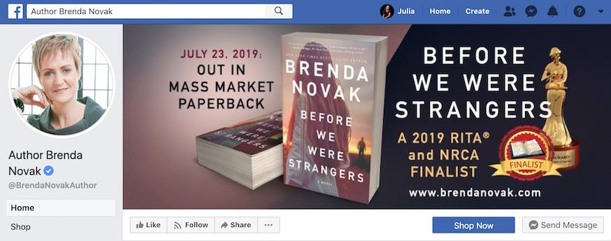 Brenda Novak Facebook Page