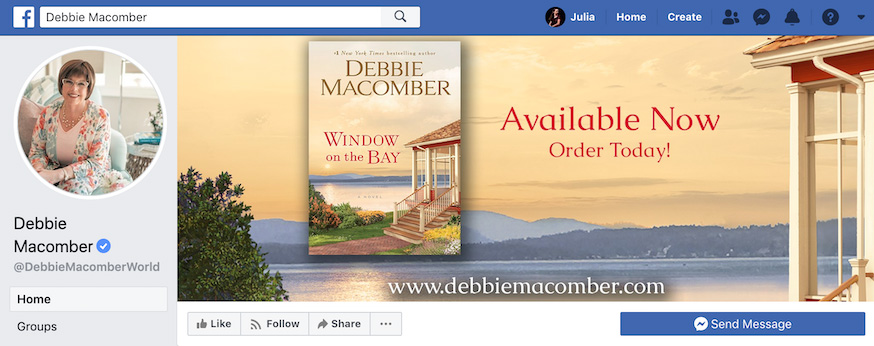 Debbie Macomber Facebook Page