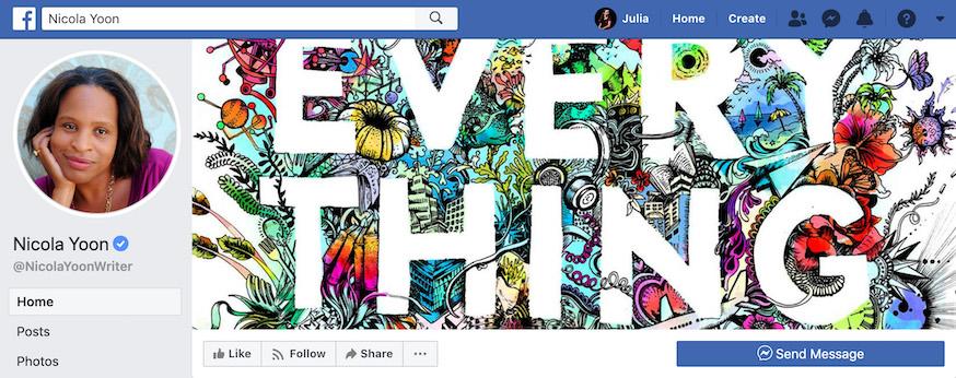Nicola Yoon Author Facebook Page